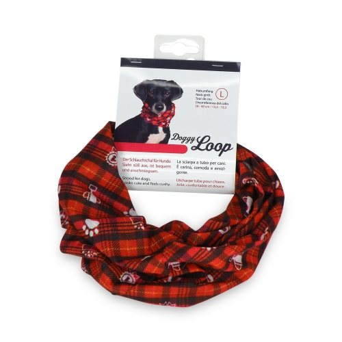 Doggy Loop snood red S