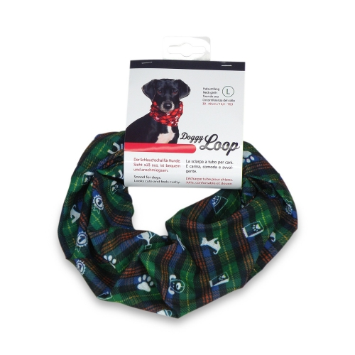 Doggy Loop snood green in M