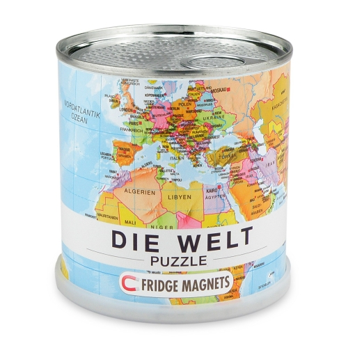 Welt Puzzle Magnets Deutsch