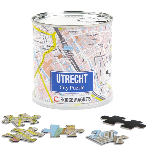 City Puzzle Magnets Utrecht
