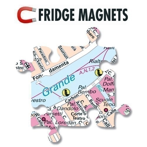 City Puzzle Magnets Bretagne