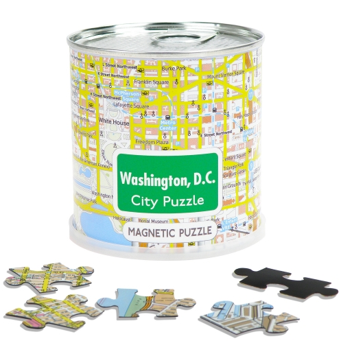 City Puzzle Magnets Washington, D.C.