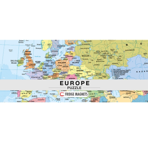Europe / Europa Puzzle Magnets