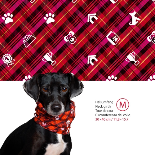 Doggy Loop snood red M