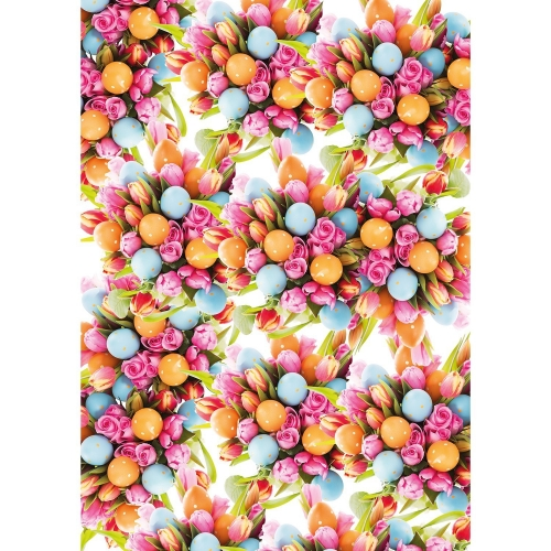 Gift wrap paper easter - set of 10