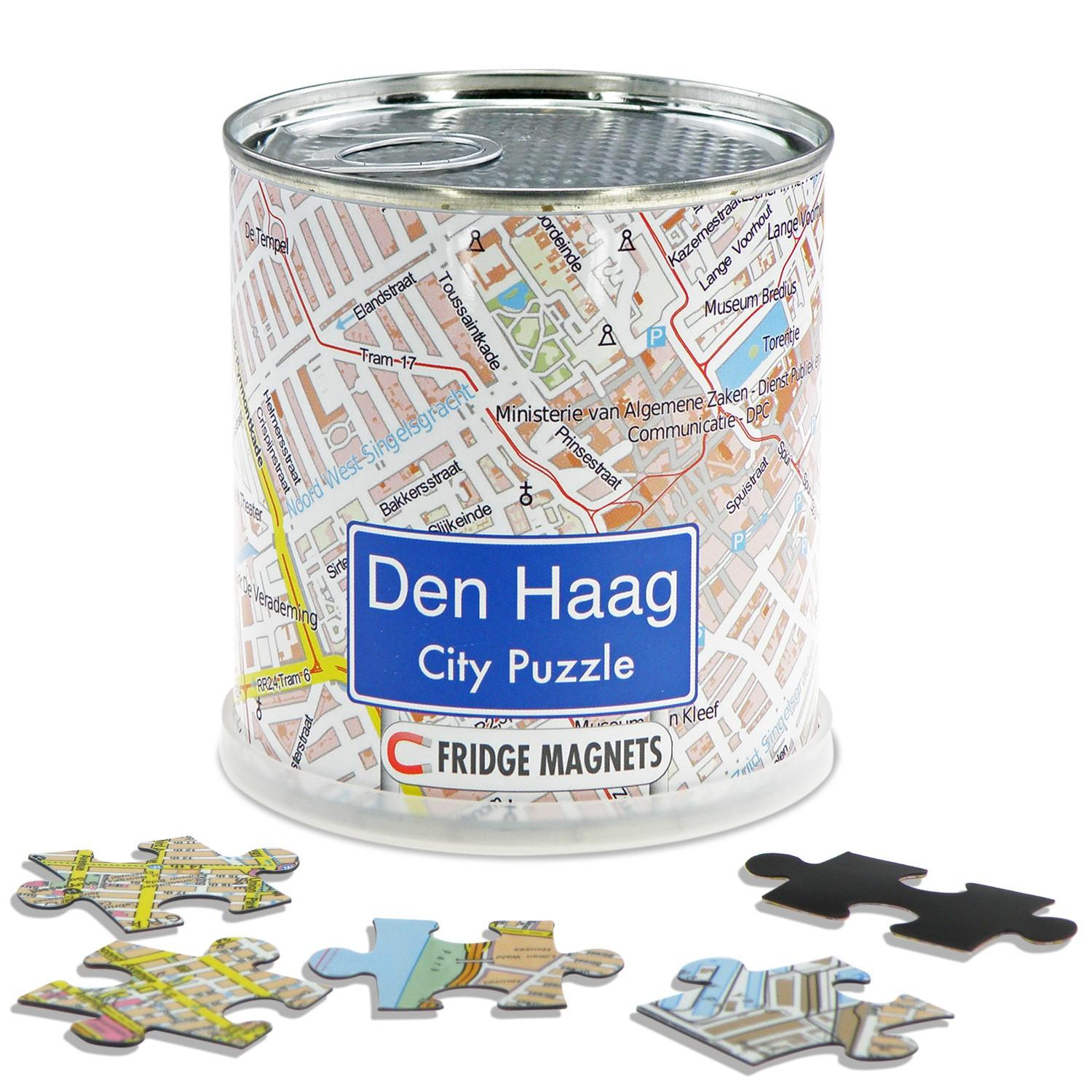 City Puzzle Magnets Den Haag