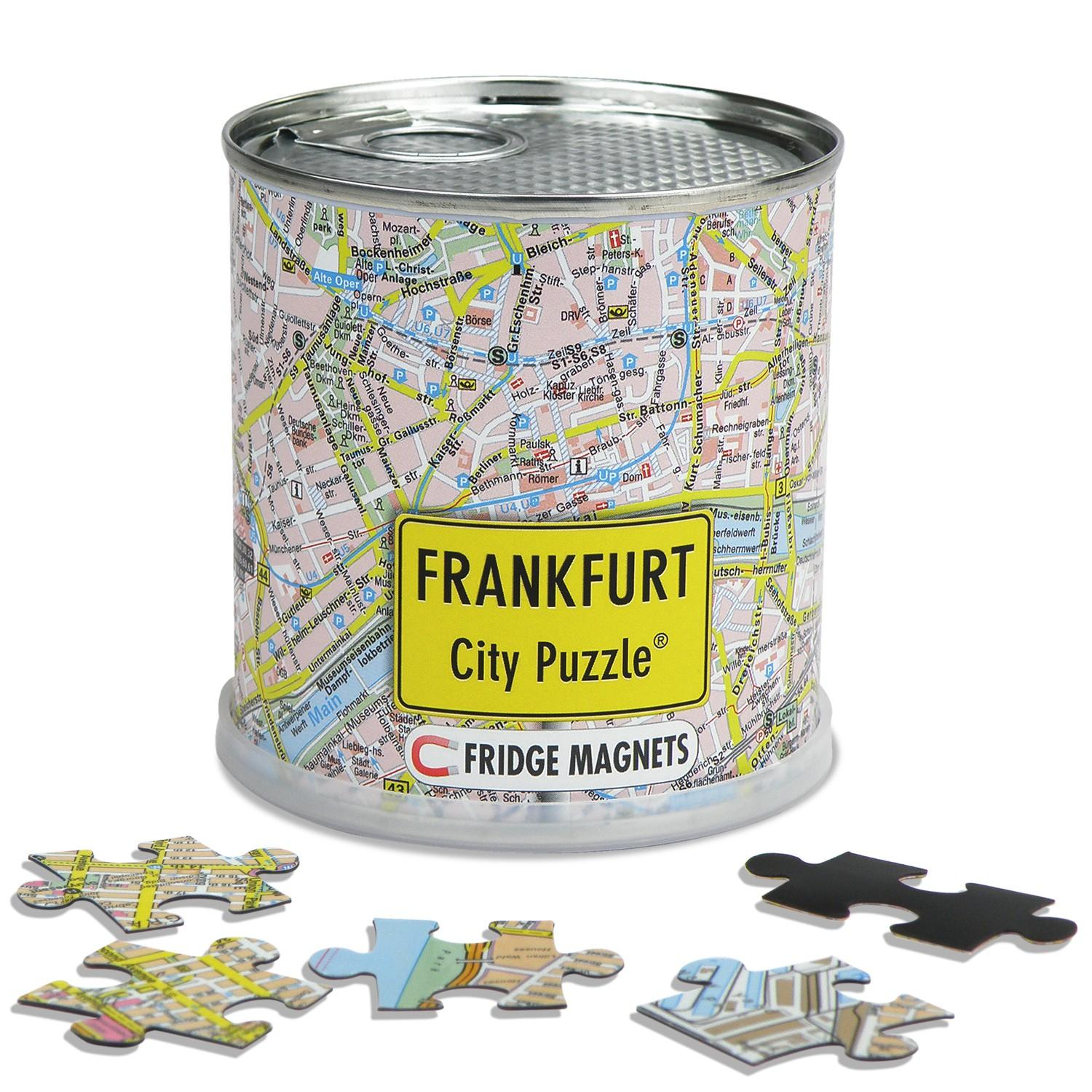 City Puzzle Magnets Frankfurt am Main