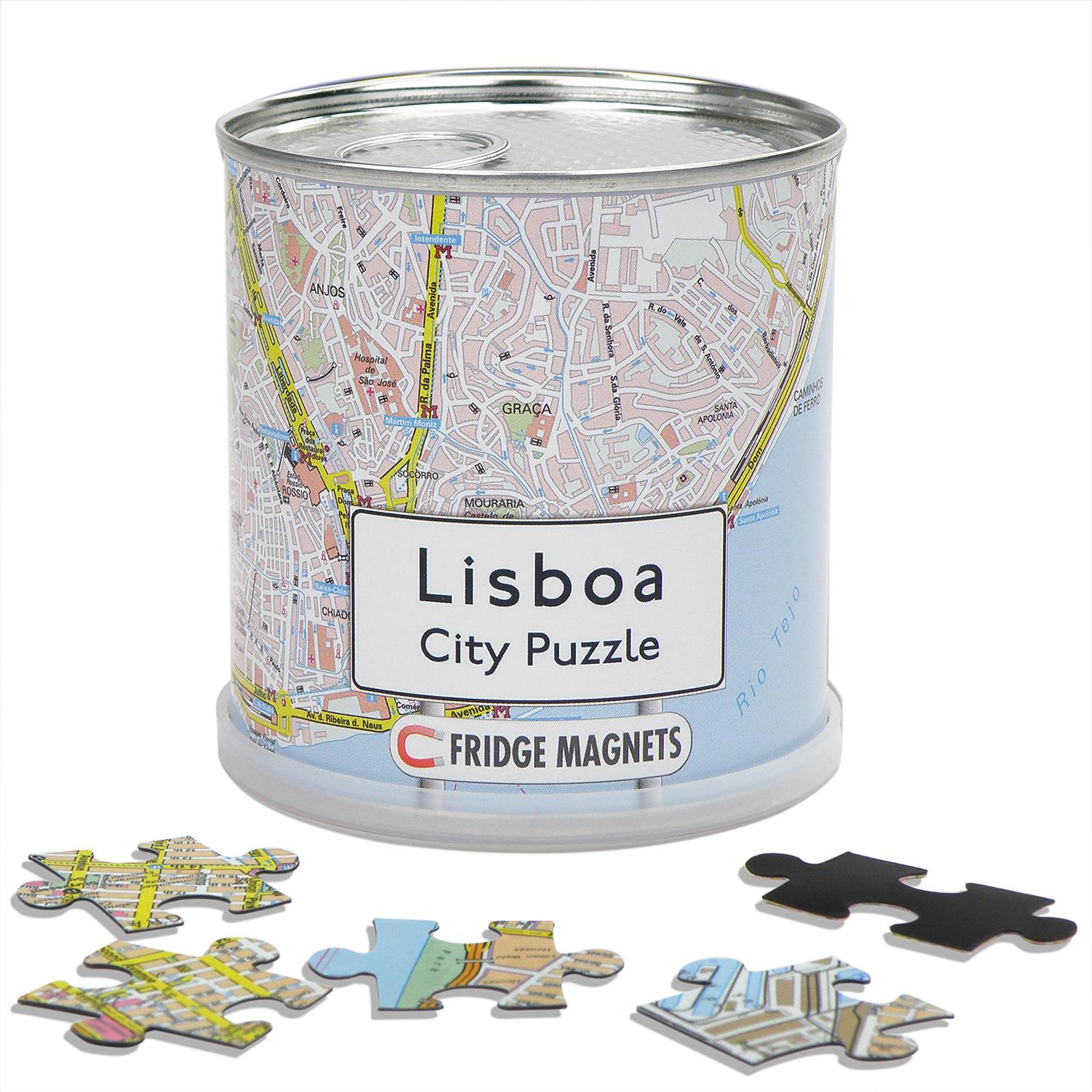 City Puzzle Magnets Lisboa