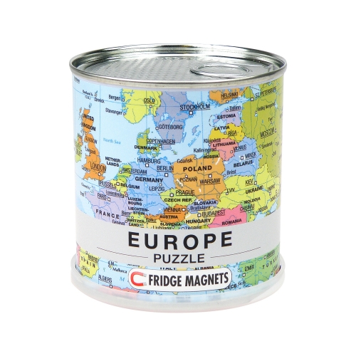 Europe Puzzle Magnets