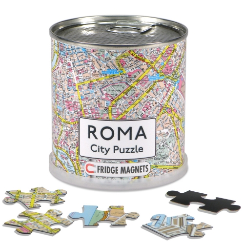 City Puzzle Magnets Rom