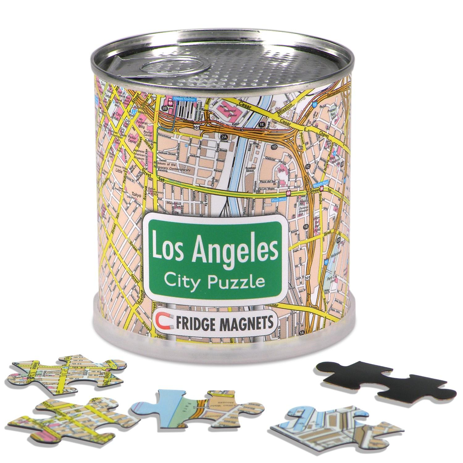 City Puzzle Magnets Los Angeles
