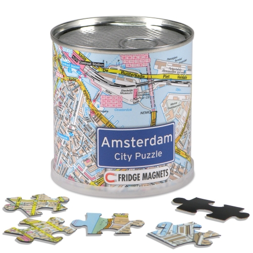City Puzzle Magnets Amsterdam